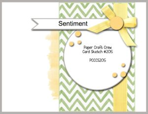 Welcome to the Paper Craft Crew Sketch Challenge 205 hosted by Pam Staples, SunnyGirlScraps.  #papercraftcrew #sunnygirlscraps #challengeblog #papercrafts  Play along at www.papercraftcrew.com #papercraftcrew #sketch